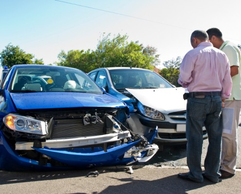 автомобилна катастрофа